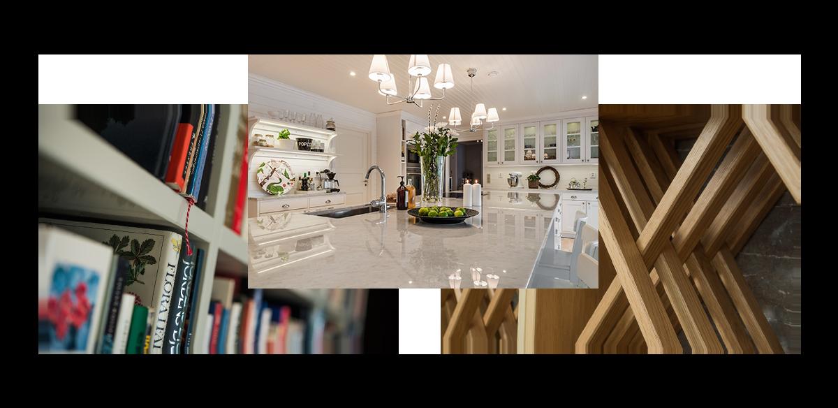 bilder på platsbyggda kök