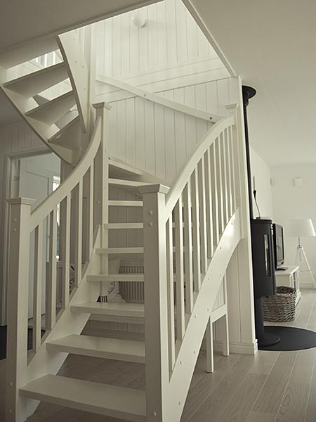 platsbyggd trappa