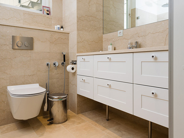 Exklusiv badrumsinredning